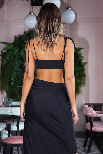 You and Me Top - Black