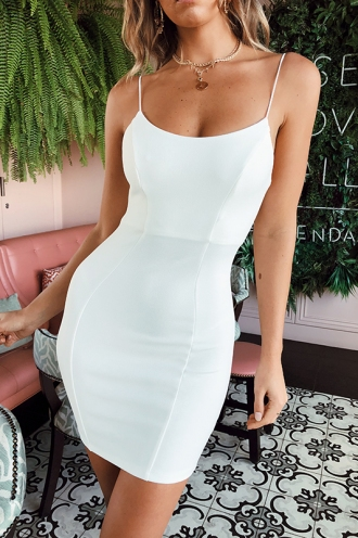 Late Night Dress - White