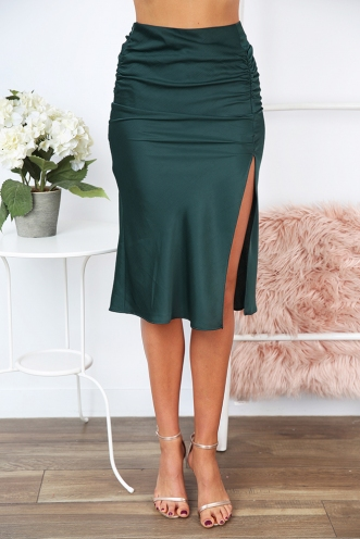 You and Me Skirt - Forest Green
