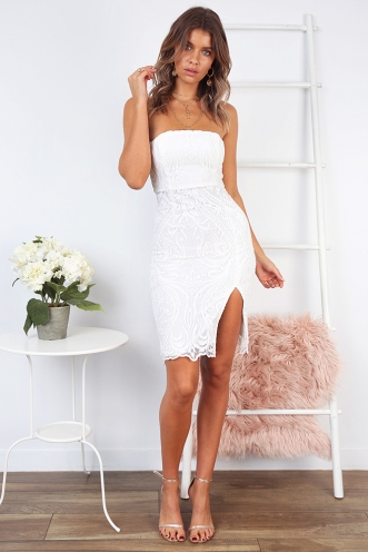 Faith Dress- White