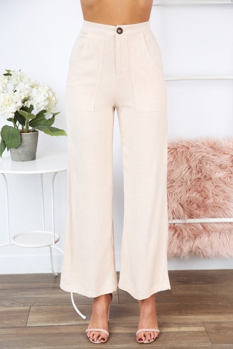 Cabarita Pants- Cream
