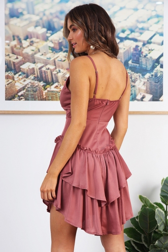 Cara Dress - Sweet Blush
