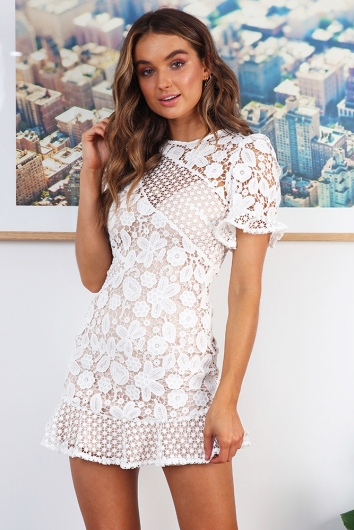 Molly Dress- White