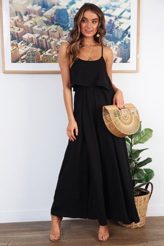 Remember Me Jumpsuit - Black