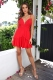 Danger Zone Dress - Red