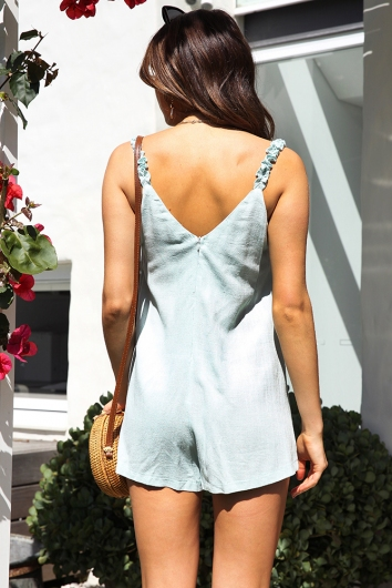 Brittany Playsuit - Mint