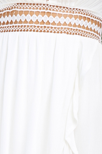 Divine Power Dress - White