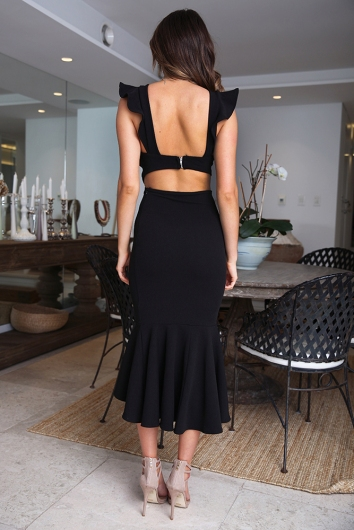 Make An Entrance Dress- Black