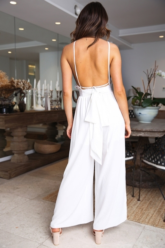 Misty Jumpsuit - White