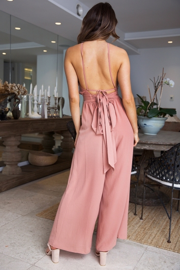 Misty Jumpsuit - Terracotta