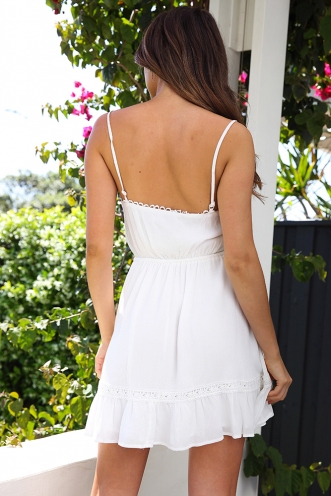 Dream Taker Dress - White