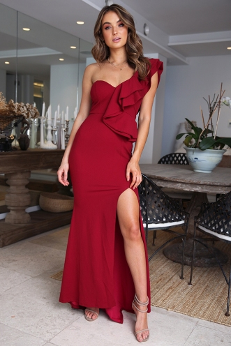 Ritika Dress - Wine