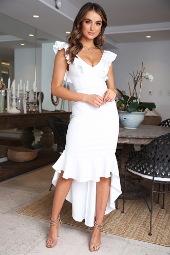 Haylee Dress - White