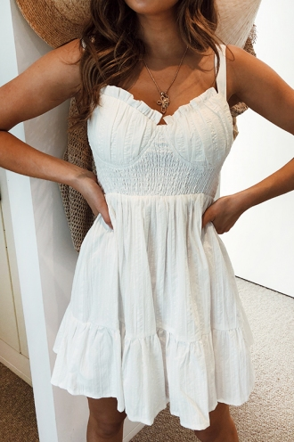 Kyrina Dress - White