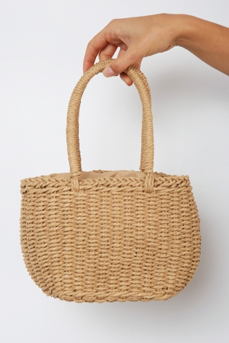 Miss Muffet Bag - Natural