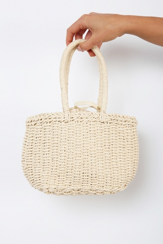 Miss Muffet Bag - Light Natural