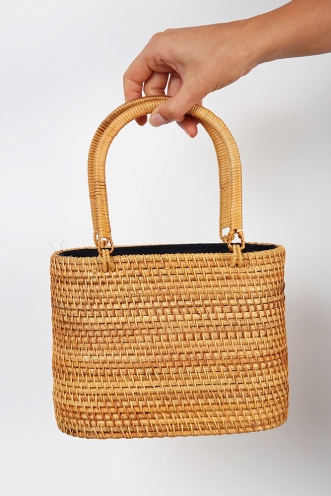 Molly Picnic Bag - Natural