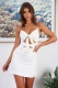 Stacey Dress- White