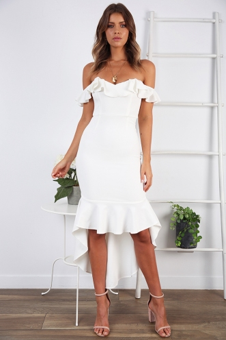 Keira Dress - white