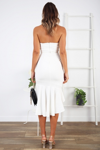 Luna Dress- White