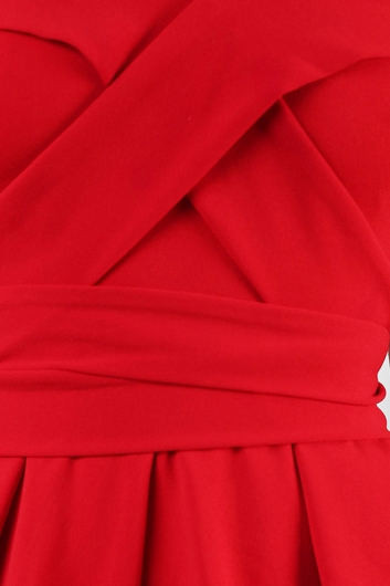 Red Rover Playsuit- Red