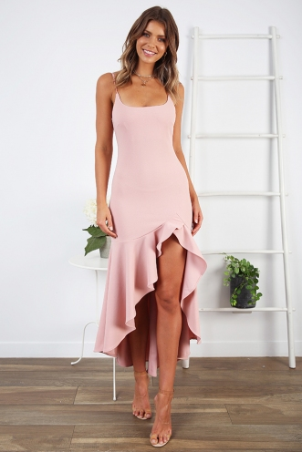 Night Sky Dress - Pink
