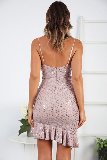 Before Dawn Dress - Champagne