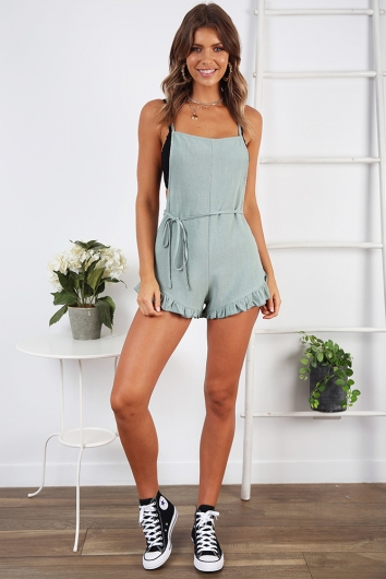 Fiona Playsuit- Sage