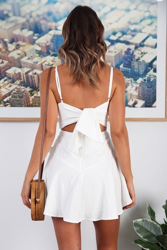 Me Times Two Dress - White