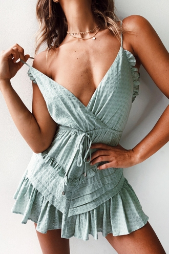 Wila Playsuit- Green