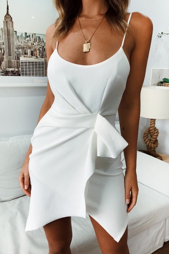 Misha Dress- White