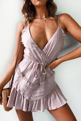 Wila Playsuit- Mauve