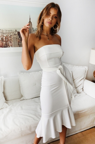 Love Affair Dress - White