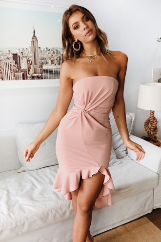 Luna Dress- Blush