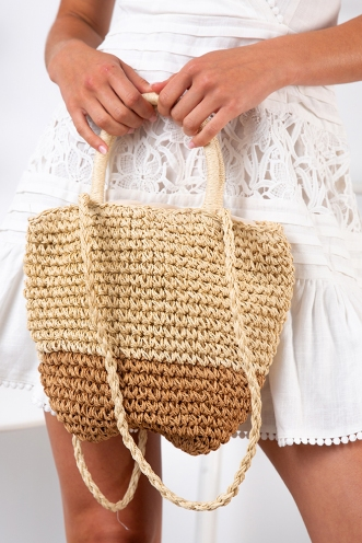 Rori Basket Bag - Natural