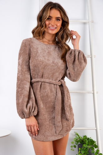 Lana Dress - Beige