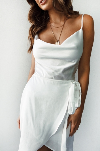 Bad Habits Dress - White