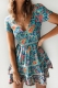 Sunflower Child Dress- Turquoise Floral