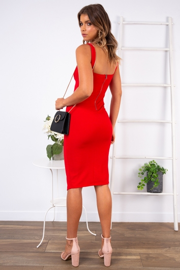 Tatum Dress - Red