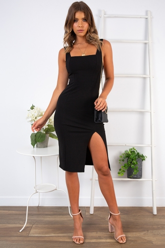 End Of The Night Dress - Black