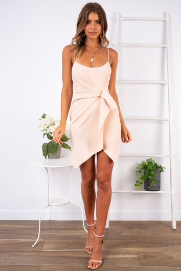 Misha Dress- Beige