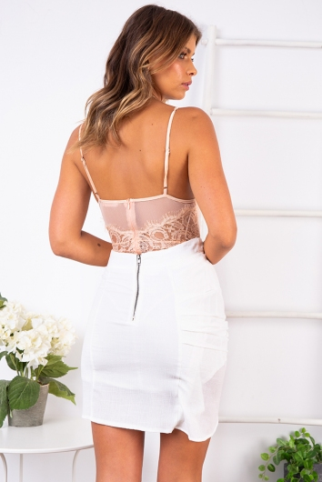 Lounge All Day Bodysuit - Blush