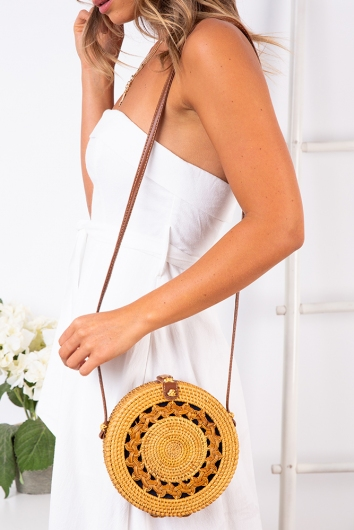 Earth Child Sling Bag - Natural