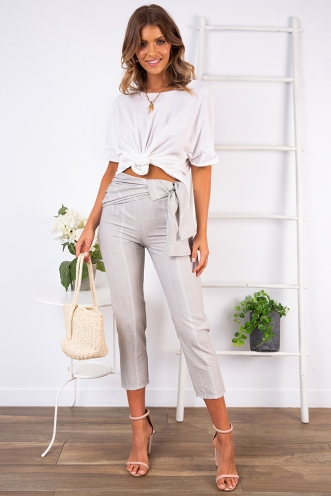Layender Pants - Grey