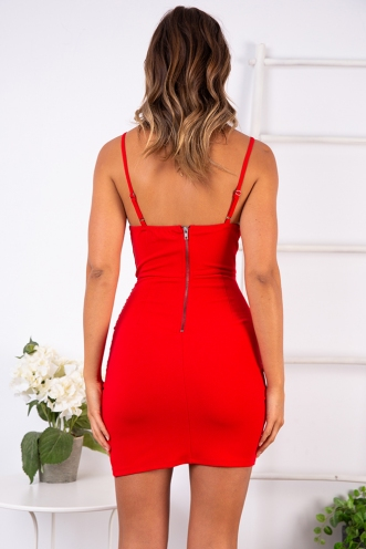 All About You Dress - Red