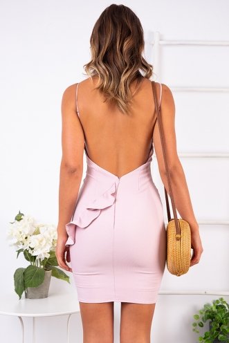 Brianna Dress - Mauve