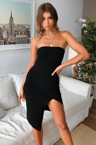 Night Sky Dress - Black