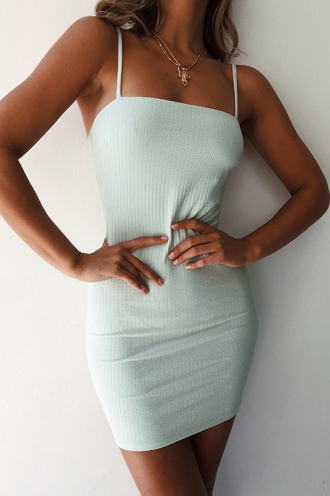 French Kiss Dress - Mint