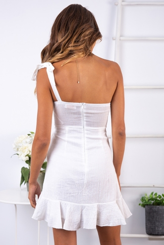 Fairytale Ending Dress - White
