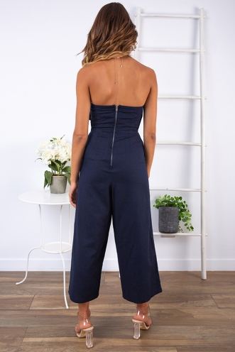 Elise Jumpsuit - Navy